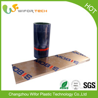 China Supplier Self Adhesive Printed Pe Protective Film For Sandwich Panel Steel