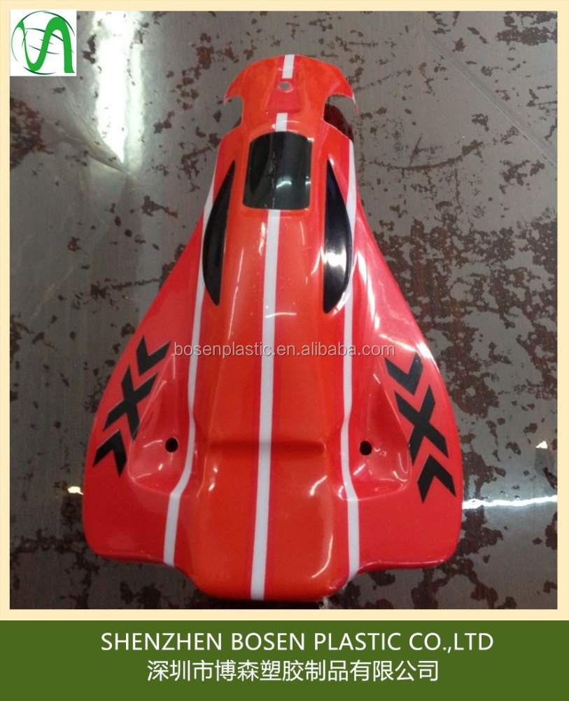 OEM plastic rc toy body cover / vacuum formed toy body shell