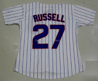 Women's Chicago Cubs Addison Russell #27 White Cool Base Player Jersey
