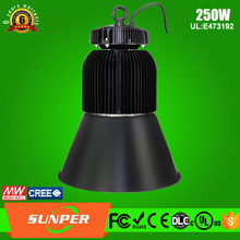 100W 200W 250W led pendant lighting dlc led gas station led high bay light meanwell driver
