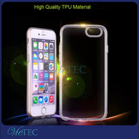 High quality TPU transparent clear matte for iPhone 6 ultra thin case