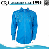 Custom Embroidery Latest Shirt Designs for Men