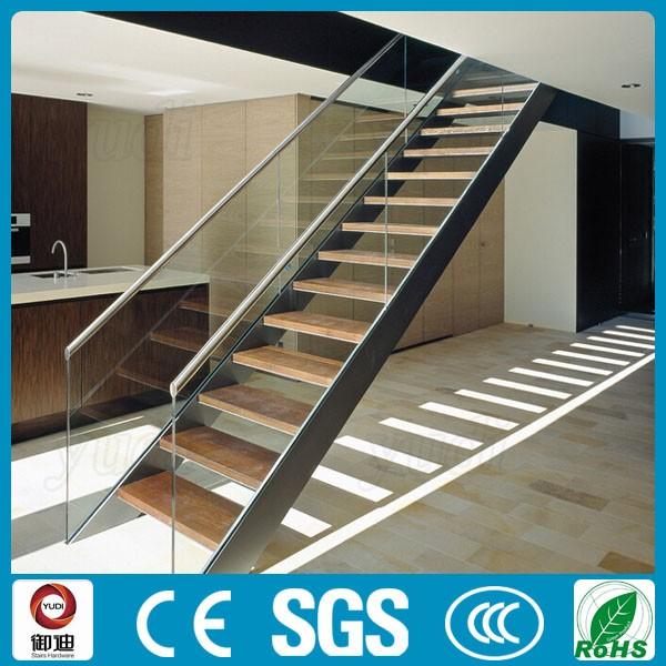 Modern Design DIY Residential Prefabricated Stairs Steel