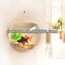 Hot sale small cylindrical fish tank,mini acrylic fish tank aquariums wholesale FT-025