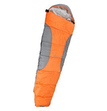 Thicken mummy style adult outdoor Camping sleeping bag with hood