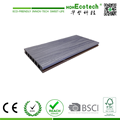 Two color with one board, reversible color co-extrusion decking, high quality capped composite decking
