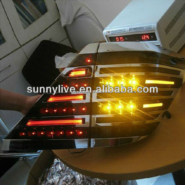 For TOYOTA ALPHARD LED Tail Lamp LED Rear Light Smoke Black Color