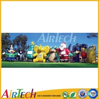 Customized promotional walking inflatable cartoon,inflatable model for sale