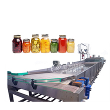 automatic steam sterilization machine for bottles and cans