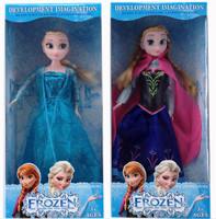 Frozen Elsa Anna Princess Girl doll toy Vinyl doll