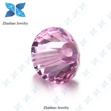 8mm special shape pink aaa cz gemstone for bracelet
