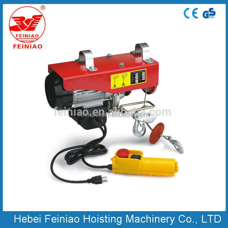 PA Wire Rope winch/cable electric pull lifting machine construction equipment