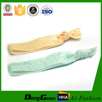 Top Quality Custom Satin Face Printed Fold Over Elastic Band