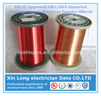 ISO/UL Approved AWG/SWG Enameled 16 Gauge Copper Wire, Free Samples Offered
