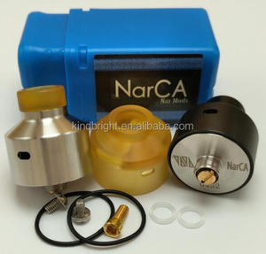 High qulity !!! 316 SS Narca rda/Narca rda With bf pin /Hussar v1.0 rda 1:1 clone with factory wholesale price