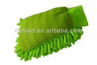 Microfiber Chenille car wash mitt/wash mitt/ car cleaning glvoe FM1005