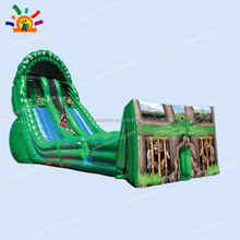 Commercial outdoor giant Zipline sport inflatable game for adult and kids