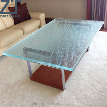 artificial solid surface glass top for desk
