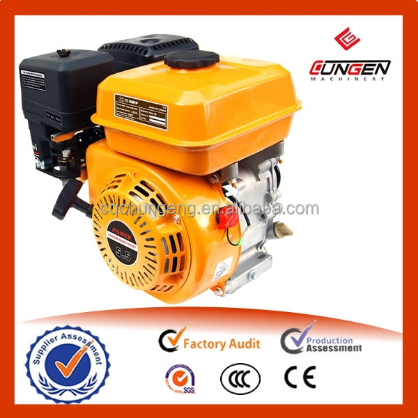 China 168f displacement 163cc max power 5.5hp small engines