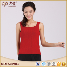 women cashmere Tank Top underware
