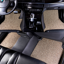 China Factory Misty Gray Modern Comfortable Non Slip 3D Clear Plastic Car Floor Mats