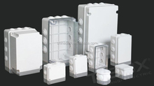 TIBOX Plastic electronic enclosures IP55 UL