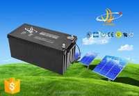 Vrla 12v battery 12v200ah long life high capacity solar sealed lead acid battery maintenance free type
