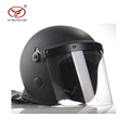 2017 Newset military and police anti riot helmet WITH POLYCARBONATE FACE SHIELD BLACK ROTHCO