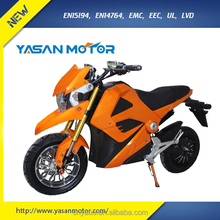 2017 Newest 2000W Racing Adult Electric Motorcycle 72V 20Ah Silicon Battery