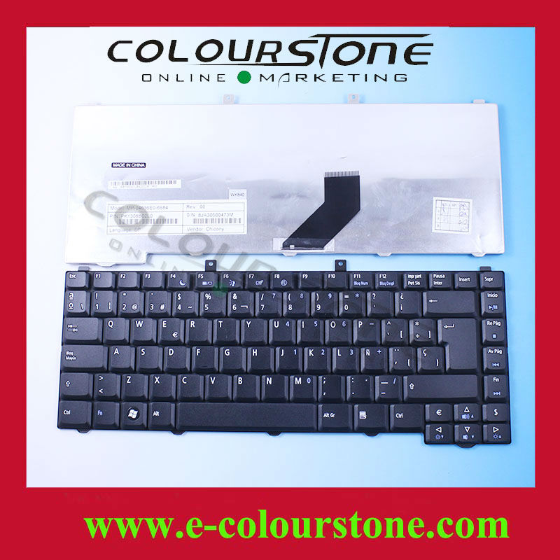 keyboard for acer laptop 3100 3650 3690 5100 series Laptop Keyboard SP Spanish layout MP-04656E0