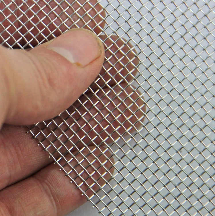 woven 40 mesh uns s31803 2205 duplex stainless steel wire filter mesh