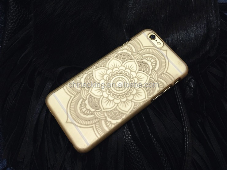 Phone Case for Apple iphone 6 Case 4.7 iphone6 6S Plus Cases 5.5 Vintage Flower Pattern Fashion Luxury iphone6S phone Back Cover
