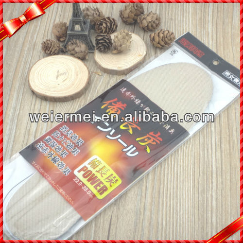 Anti Sweat And Deodorization Function Activated Carbon Insole