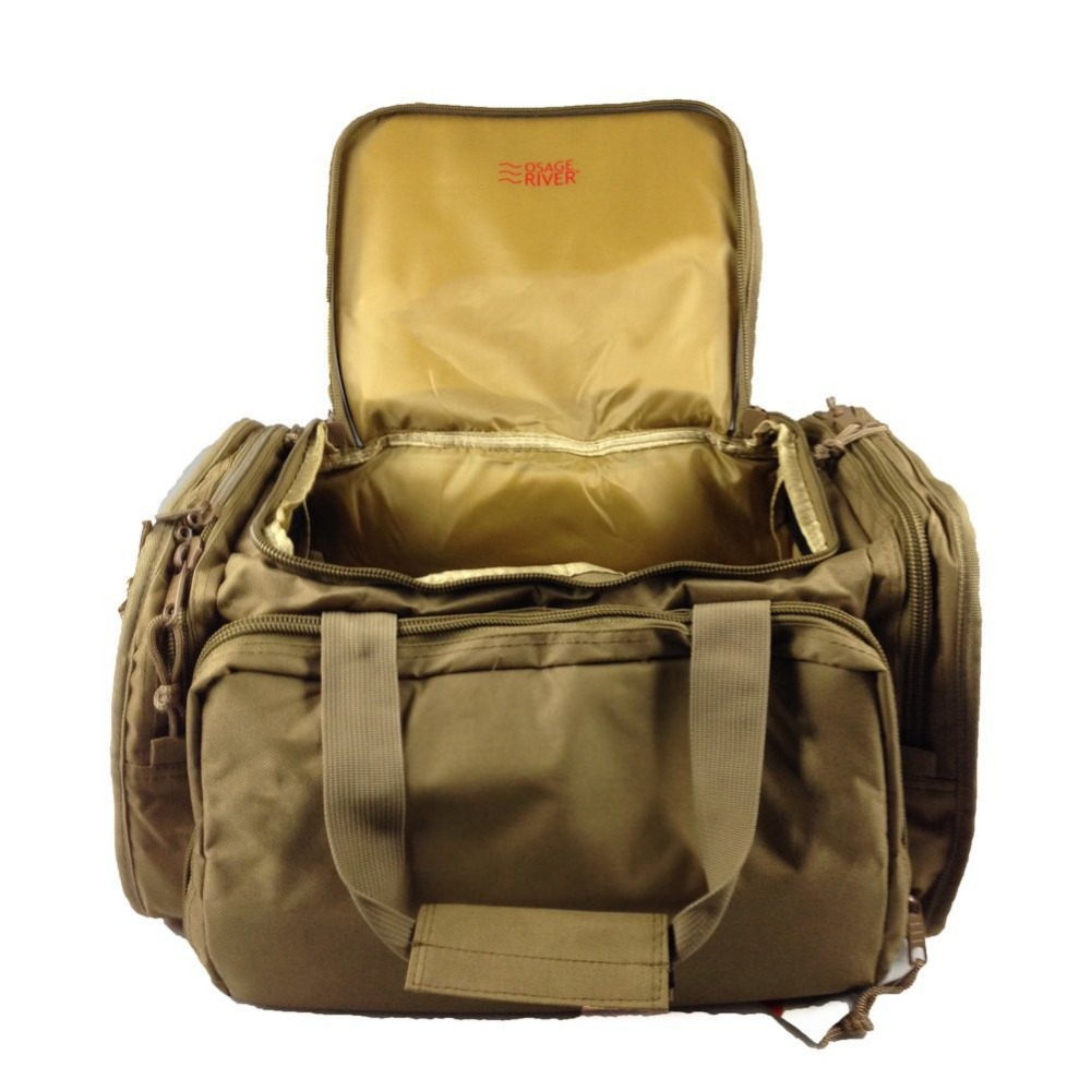Tactical Shooting Gun Range Bag with Brown Color