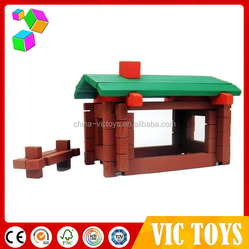 2017 Pretend Play Toy Wooden Doll House in stock,DIY wooden toy house,DIY house model