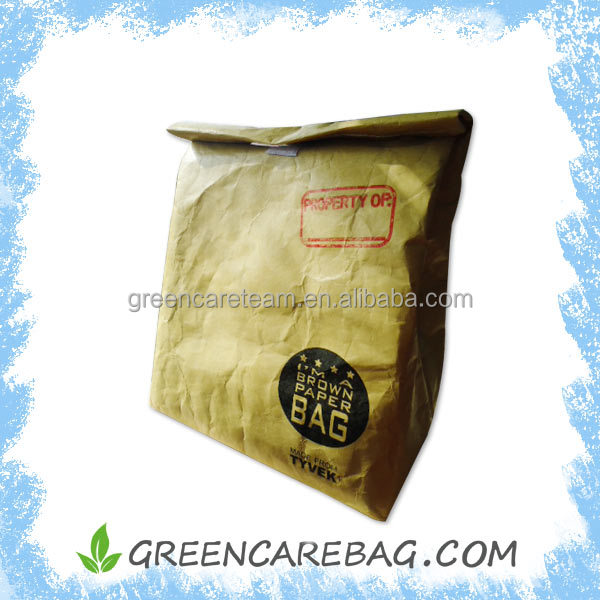 Insulated dupont tyvek paper bag