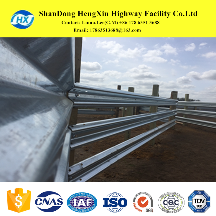 Agriculture's Own galvanized metal farm fence with State DOTs facing Federal standards