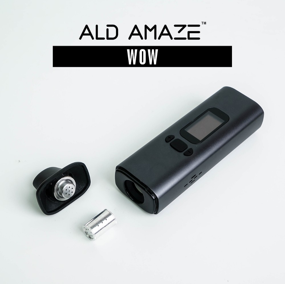 Top hot selling in Canada market Ald Amaze dry herb vaporizer kit high time dry herbal kit from Ald Group