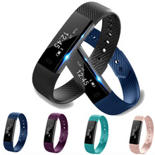 2017 Smart Sport Bracelet With Activity Tracker Big LED Display Bluetooth Smart Wristband