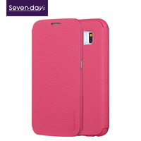 2015 hot sell model smart leather phone case for samsung S6 for lady