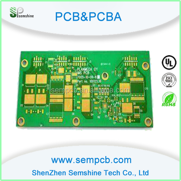 Blue LCD Display PCB&CRT TV Circuit Board factory,metal detector fr4 pcb
