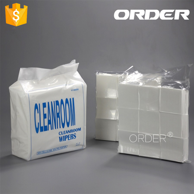 3''*3'' Dust Free Dry Strength Nonwoven Cleaning Cloth