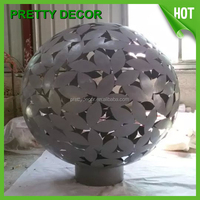 stainless steel garden art ornament sculpture