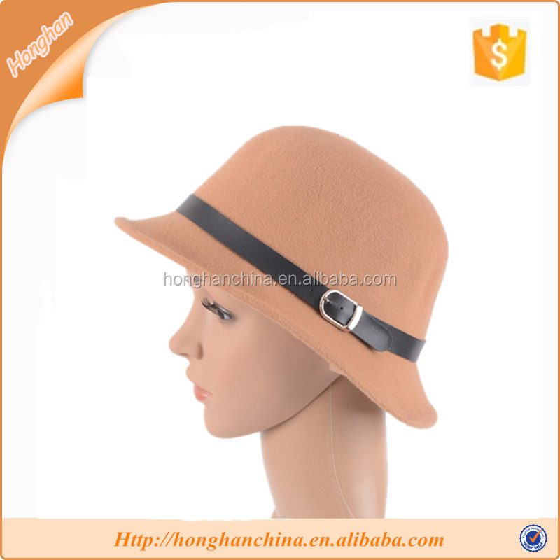 Wholesale church hats fine quality bucket hat