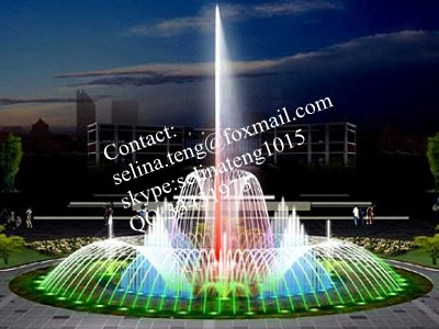 chinese manufacturer musical dancing water fountain outdoor