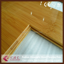 Guangzhou Carbonized 5/8 thick solid bamboo flooring