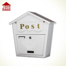Foshan JHC-2014C Wall Mounted Metal Mailbox/n Decorative Letterbox/Outdoor Lockable apartment postbox