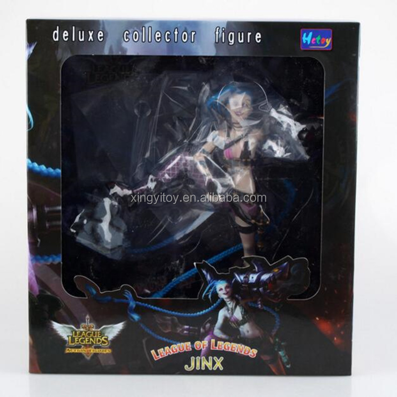 League of Legends LOL JINX 23cm Toy Collectble action Figure