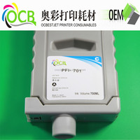 Cheap compatible ink cartridge of PFI 701 for canon IPF 9000s printer