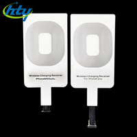 Portable Qi Wireless Charger Standard Smart Charging Adapter Receptor Coil Receiver For iPhone SE 5 5C 5S 6 6S